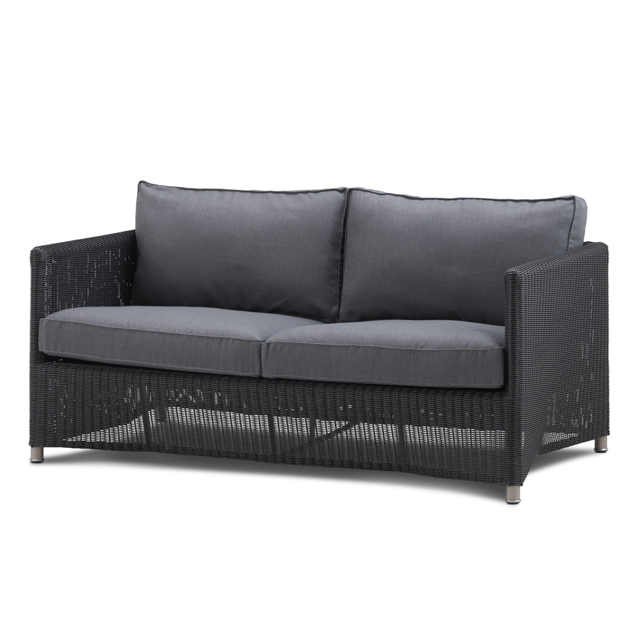Diamond 2-Sitzer Sofa Geflecht