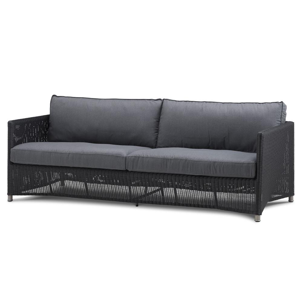 Diamond 3-Sitzer Sofa Geflecht Cane-Line