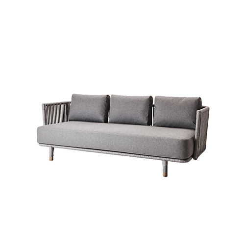 Moments 3 Sitzer Sofa Cane-Line