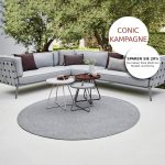 Conic lounge cane line