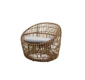 Nest Round Sessel Outdoor Cane-Line